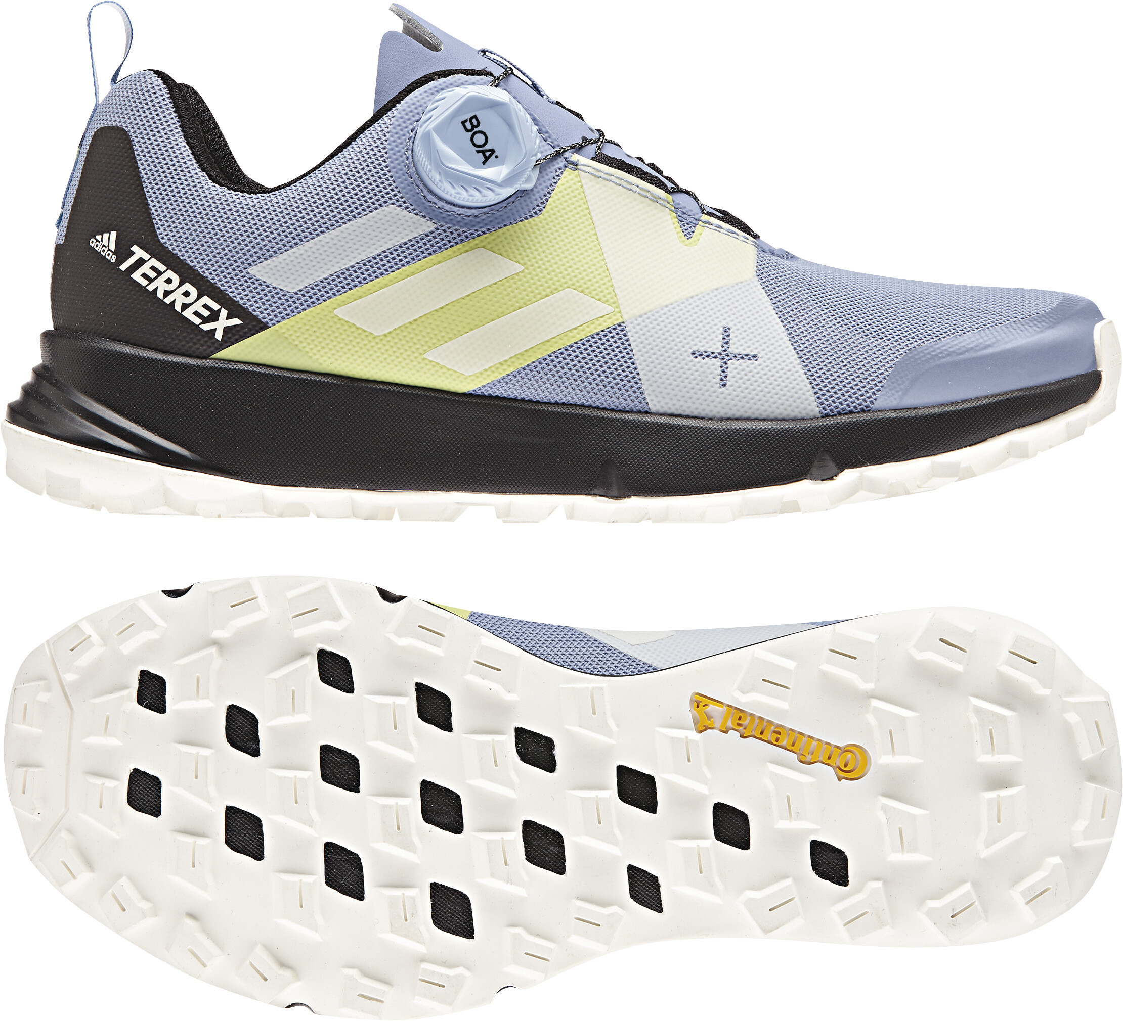 adidas TERREX Two Boa Löparskor Dam gul blå - till fenomenalt pris ... db92b4434fef2